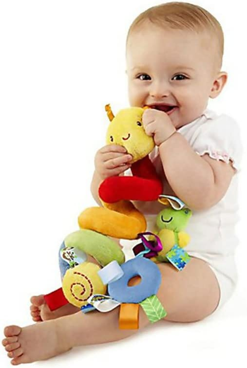 Sealive Newborn Crib Bell Hang Stuffed Animals Doll Baby Stroller Hanging Wind Chimes Baby Rattle 0-3 Years Old Toys