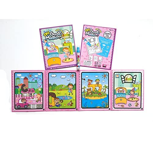 Tango cartoon theme with lovely girl water Coloring Book with water ...