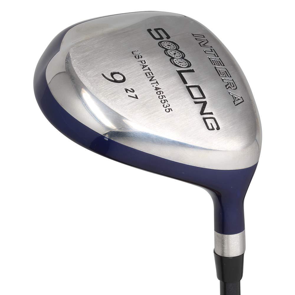 Integra SoooLong ゴルフクラブ メンズ 9個 右利き用 ウルトラフォアビング Xスティッフ フレックス グラファイトシャフト B07HBSSR8T