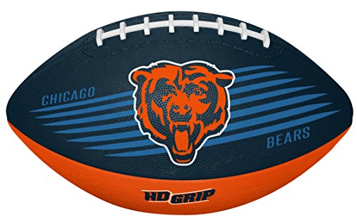 (Rawlings NFL Chicago Bears 07731062111NFL Downfield Football (All Team Options), Blue, Youth)