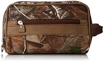 RealTree Camo Men's Travel Bag, Camo/Brown, One Size