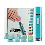 9-in-1 Professional Electric Pure Nail File Drill Manicure Tool Pedicure Machine Set Kit for Women At Home