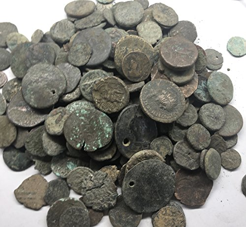 IT 12 Ancient Roman Bronze Coins Comes With Gift Bag CIR-AG ()