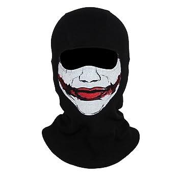 Tela Innturt máscara del fantasma pasamontañas cráneo Hood Joker
