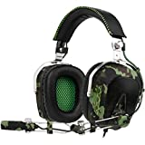 GW SADES SA926 Stereo Wired Over Ear Gaming Headset Headphones with Mic for PC/PS3/PS4/New Xbox One/Xbox 360/Phone/Mac/Laptop