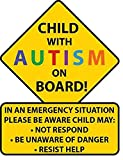 Sticky Dude | Child With Autism Car Truck Decal