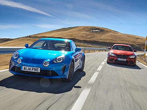 Shotgun Versus Scalpel! BMW's Mighty 2019 M2 Competition Takes on the Featherweight 2019 Alpine A110 (Best Mid Engine Sports Cars)