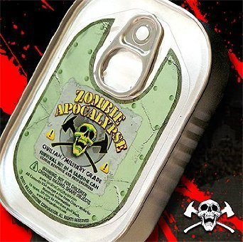 Zombie Apocalypse Survival Kit in a Sardine Can (1 Piece)