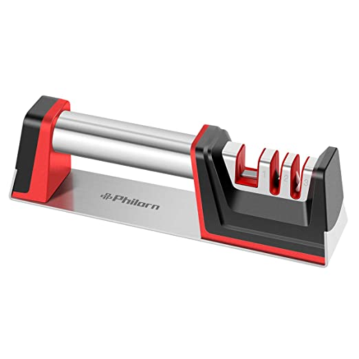 Compra PHILORN Afilador Cuchillos Profesional, Herramienta Manual ...