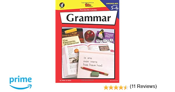 Grammar: 100 Reproducible Activities (Photocopiable Blackline ...