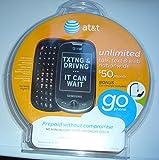 AT&T GoPhone Samsung Flight II A927 3G Touchscreen / QWERTY Slider Phone - Gray Prepaid Go Phone