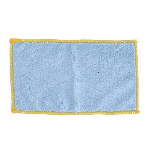 Amazon.com: eDealMax microfibra Inicio Plato Tazón Mesa de comedor limpieza del polvo de Tela de toalla Rosa Azul Toallita: Home & Kitchen