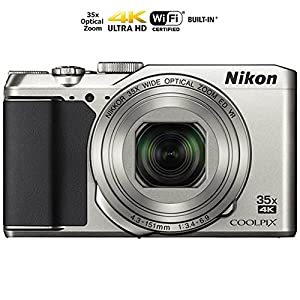 Nikon Coolpix A900 4K Wi-Fi Digital Camera (Silver) - (Certified Refurbished)