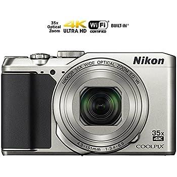 Nikon Coolpix A900 4K Wi-Fi Digital Camera (Silver) - (Certified Refurbished)
