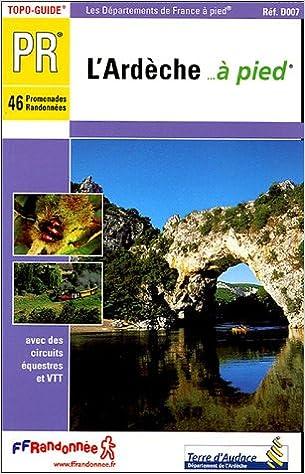 Téléchargement gratuit d'un nouveau livre électronique L'Ardèche à pied PDF DJVU FB2
