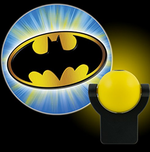DC Comics Collectors Edition Batman LED Night Light Projectables (Bat Signal) (Black And White Superhero Costumes)