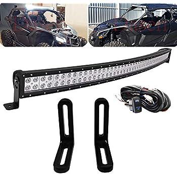 Amazon Com Dasen 40 Inch 240w Curved Led Light Bar W