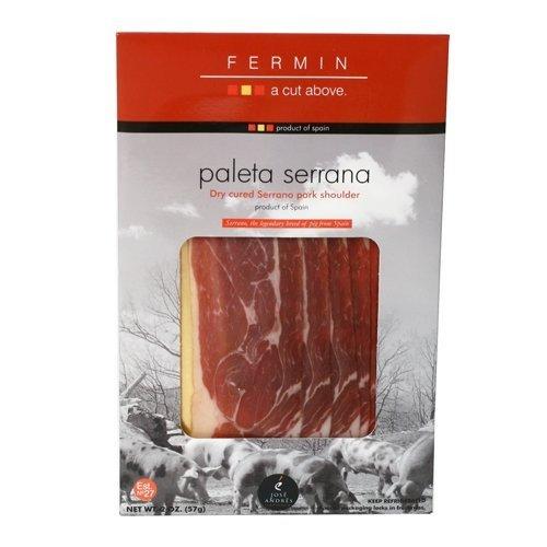 Fermin Sliced Paleta Serrano Ham, 2 (Sliced Serrano Ham)