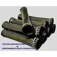 Titanium Vulcan Lava Protector Sleeve Spark Plug Wire Boot 10 cyl