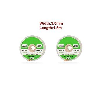 Alambre de desoldar 1.5/2.0/2.5/3.0/3.5mm Estaño de succión