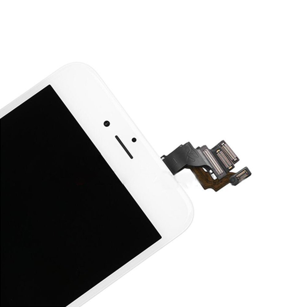 Herramientas Trop Saint/® Pantalla Blanco para iPhone 6S Plus Completa Premium Kit de reparaci/ón LCD con Gu/ía Vidrio Templado y Pegatina Adhesiva Impermeable