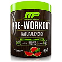 Musclepharm Natural Pre Workout Fresh Cut, Watermelon, 30 Servings, 348g