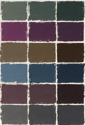 Great American Pastels 18 Color Dark Assortment