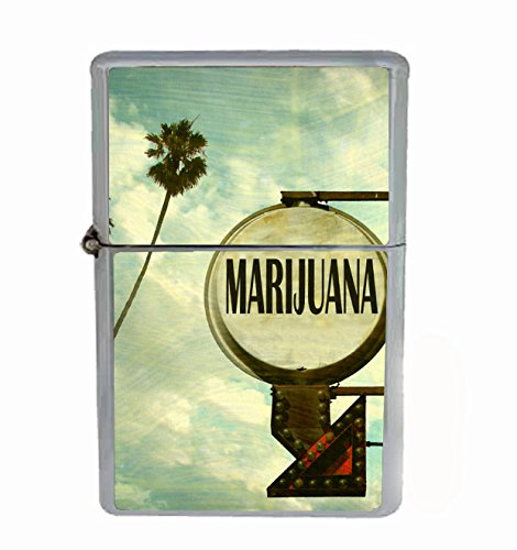 Mari Hotel Flip Top Oil Cigarette Lighter