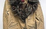 BodiLove Women's Faux Fur Collar PU Leather Short Slim Moto Biker Jacket