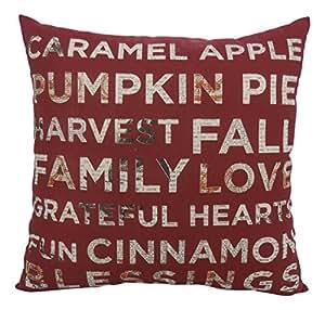 Arlee 19-26002SDT Fall Blessings Toss Pillow