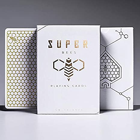 Deck of Cards SOLOMAGIA Super Bees Playing Cards