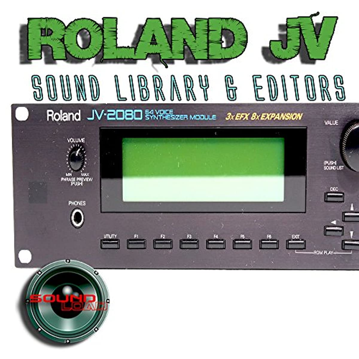 [해외] ROLAND JV-1010/1080/2080 FACTORY & NEW CREATED SOUND LIBRARY & EDITORS ON CD OR FOR DOWNLOAD