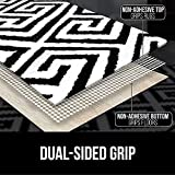 Gorilla Grip Area Rug Pad and Fluffy Area Rug, Both
