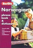 Norwegian Phrase Book & Dictionary (Berlitz Phrase Books) by Berlitz Editorial Staff (2000-09-30)
