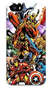 FUNKthing Marvel team Up PC Hard new iphone 5 case for girls cute