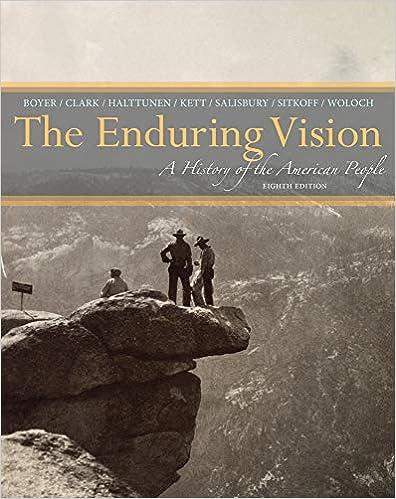 The enduring vision, vol. 1: boyer chapter 2 outline.