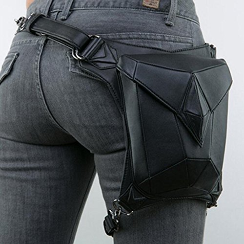 Women's Punk Stitching Shoulder Pocket Family Multi function Slung Fashion Steampunk Ow5gwqZ