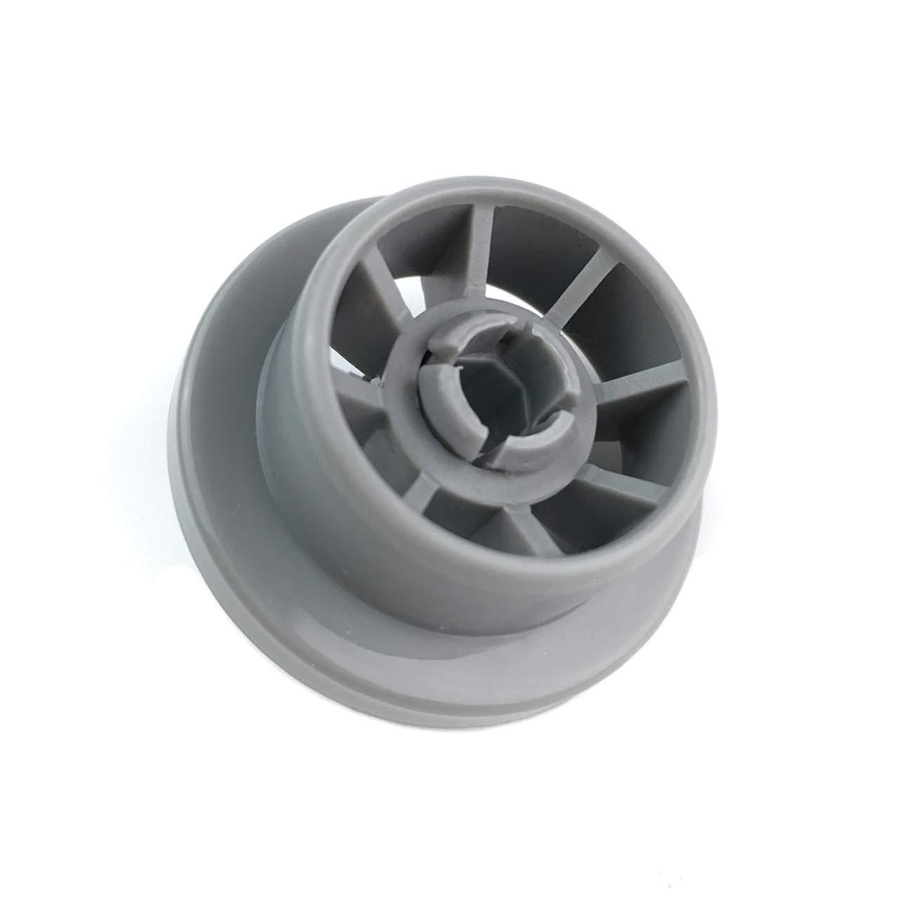 4 Pack Dishwasher Lower Basket Rail Roller Wheels for Bosch Neff & Siemens 165314 420198 AP2802428 PS3439123