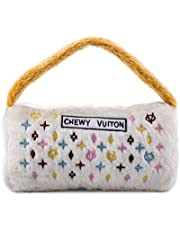 Haute Diggity Dog HDD-033-XL White Chewy Vuiton Purse, X-Large