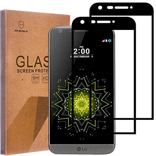 2 Pack Mr Shield For Lg G5 Tempered Glass Full Cover