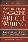 Writer's Digest Handbook of Magazine Article Writing, , 1582973342