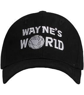 db5691ee35a Wayne s World Hat costume Waynes World cap embroidered baseball cap version