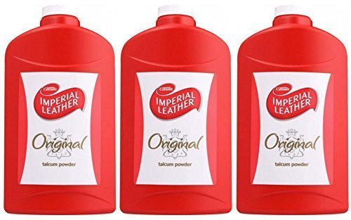 3x Cussons Imperial Leather Original Talcum Powder Talc 300gDelicate Formula by Cussons
