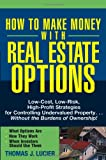 How to Make Money with Real Estate Options, Thomas Lucier, 047169276X