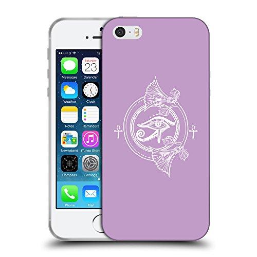 GoGoMobile Coque de Protection TPU Silicone Case pour // Q09810617 Religion 21 Bright Ube // Apple iPhone 5 5S 5G SE