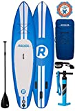 ASINNO Paddle Boards Inflatable 11-Feet Long X 6-Inch Thick SUP Package, White