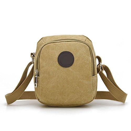 Khaki Canvas Vintage Bag Handbag Over Outdoor Leisure Men's Sport Crossbody Bags Hrph Messenger Hiking Travel Shoulder qRAxZqw5