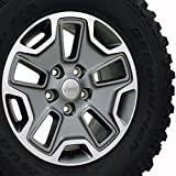 Jeep Wrangler OEM Wheel and BF Goodrich Tire 1XA50TRMAA - 17x7.5 OEM JK Rubicon Jeep Wheel w/BF Goodrich Mud Terrain TA Tires, Hollander 9118C - NOT A SET