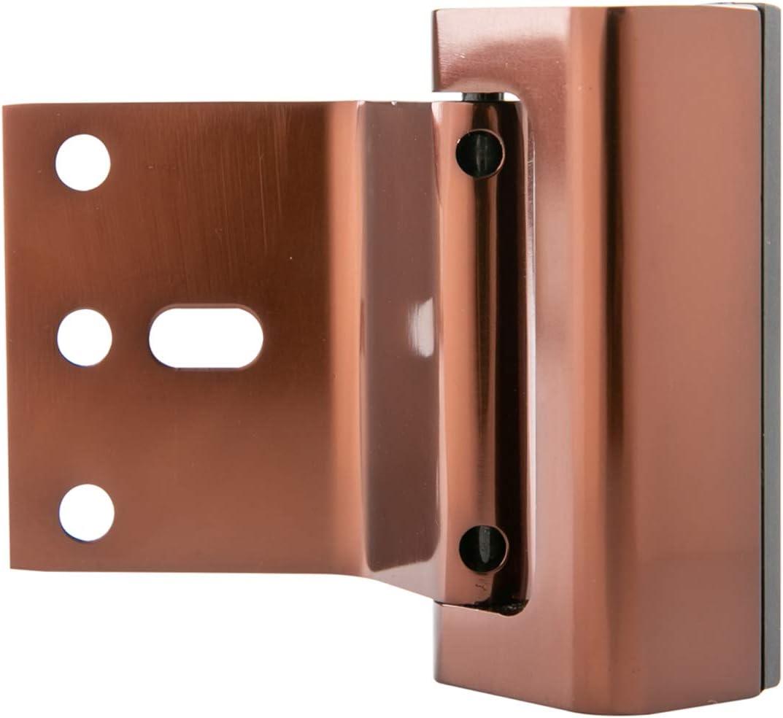 2er-Pack Basics T/ürverriegelung bronzefarben mit /Ölschliff