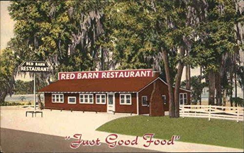 Red Barn Restaurant - Red Barn Restaurant Lake City, Florida Original Vintage Postcard